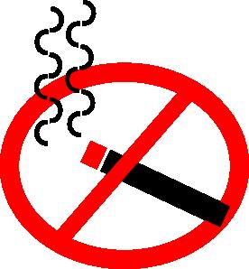 free vector No Smoking clip art .-free vector No Smoking clip art .-16