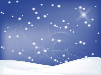 Free Vector Winter Background; Winter Background with Snowy Landscape