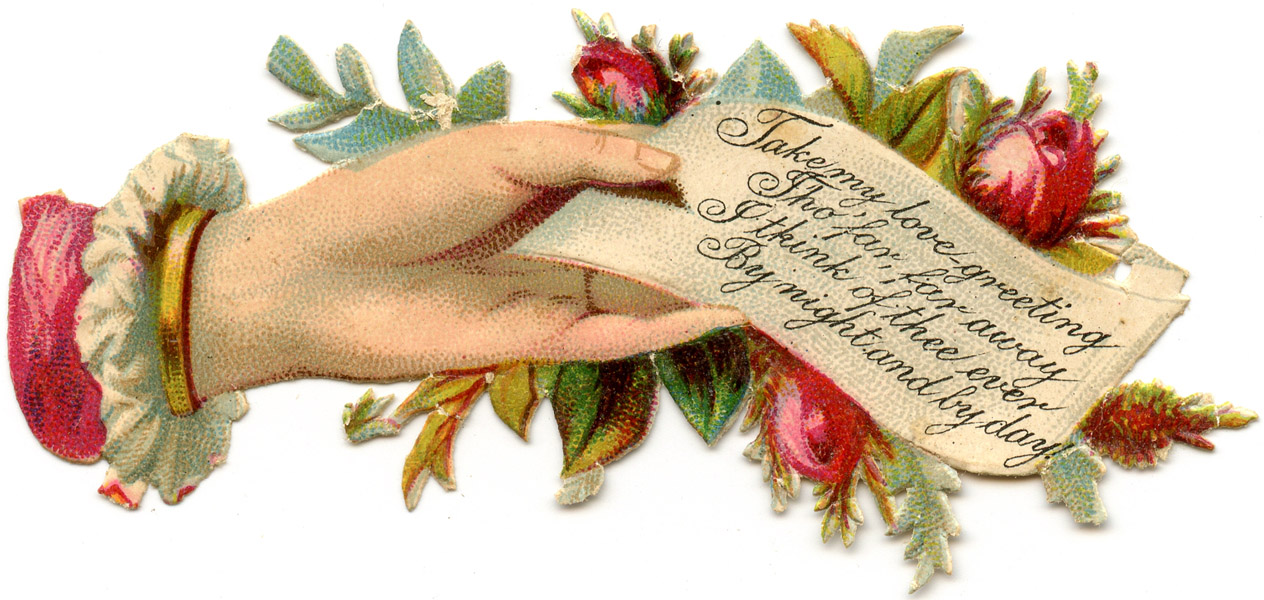 Free Victorian Clipart ... Victorian Lad-Free Victorian Clipart ... victorian lady hand note .-9