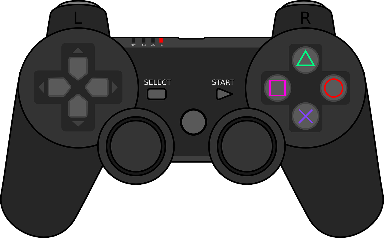 Free Video Game Controller Clip Art