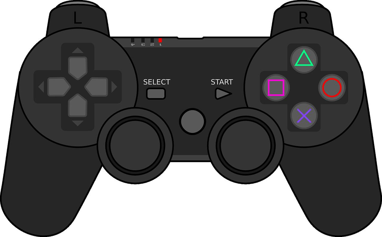 Free Video Game Controller Clip Art