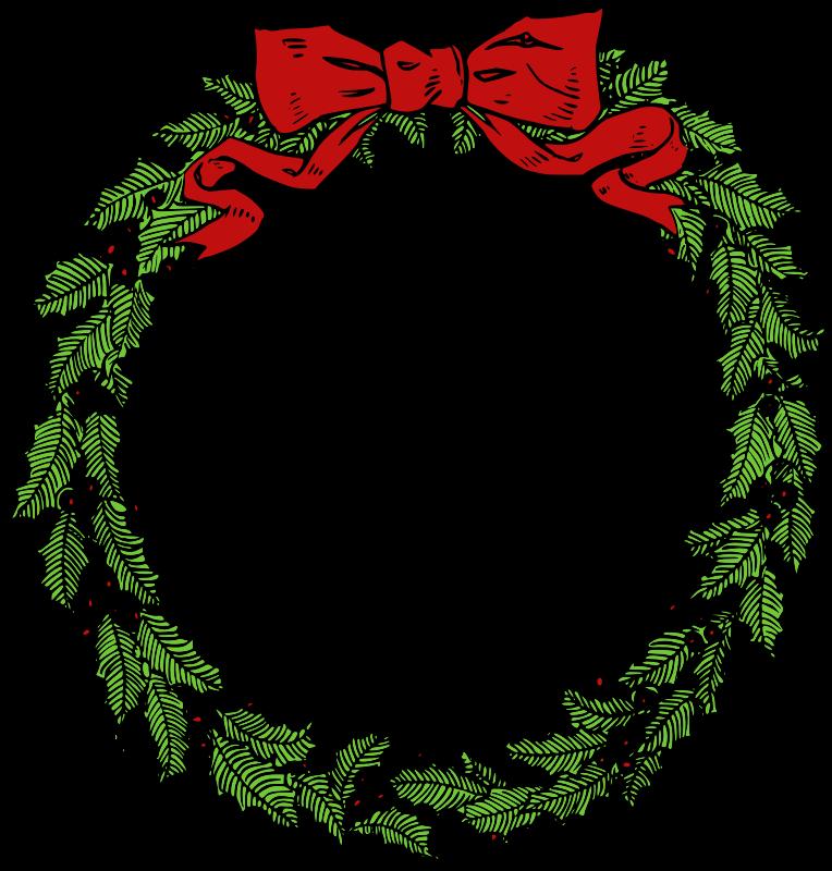 Free Vintage Christmas Wreath Clip Art-Free Vintage Christmas Wreath Clip Art-11