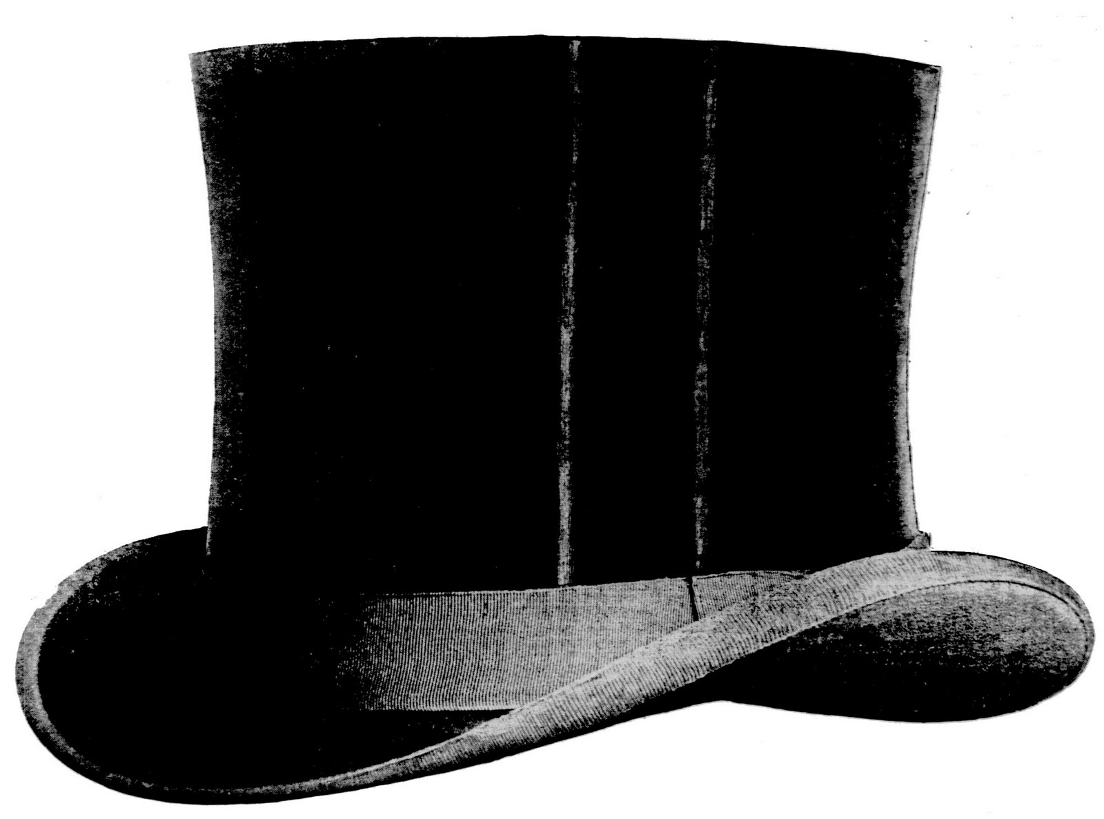 Free Vintage Clip Art u2013 Awesome Top Hat