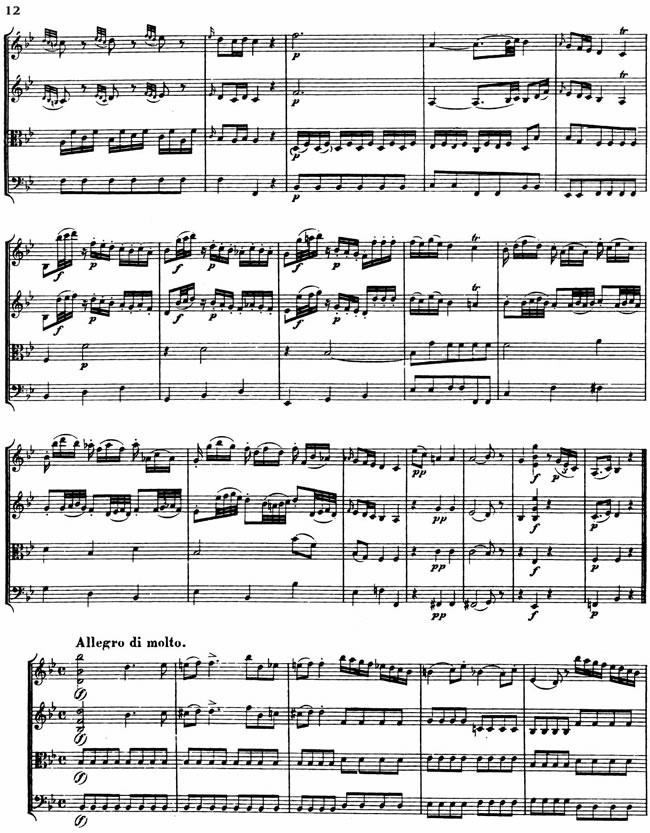 Free Vintage Clip Art Mozart Sheet Music
