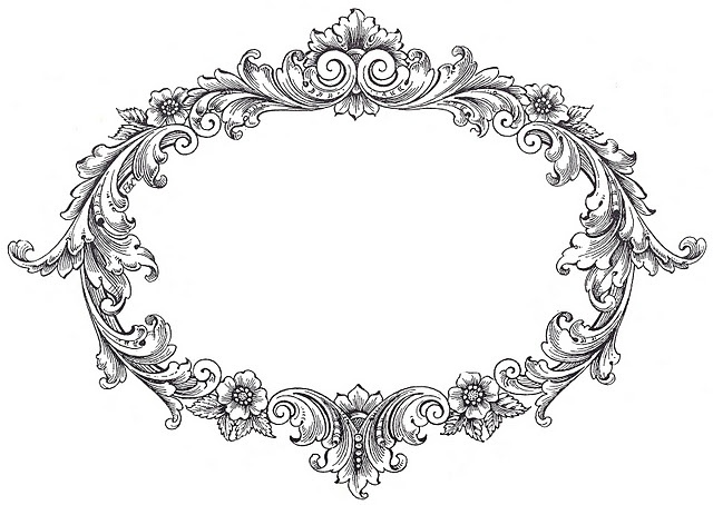 FREE vintage frame Clip Art from The Graphics Fairy | Vintage Weddings // Bodas Vintage | Pinterest | Scarlett ou0026#39;hara, Clip art and Graphics
