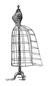 Free Vintage Image ~ Dress Form Clip Art