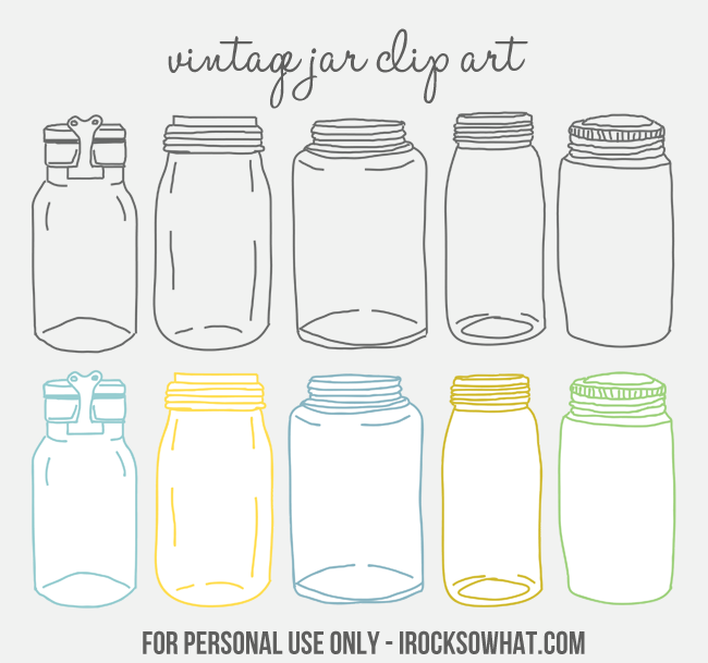 Free Vintage Jar Clip Art by IROCKSOWHAT clipartall.com