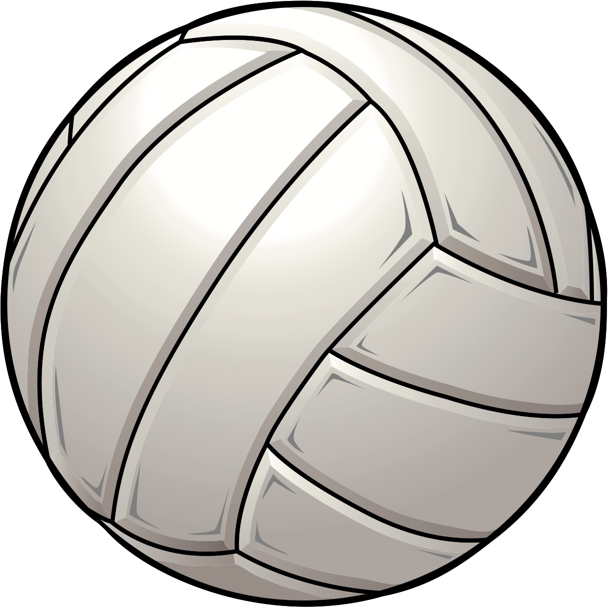 Free Volleyball Clipart Free .