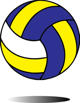 Free Volleyball Clipart Image .