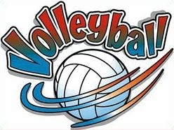 free volleyball clipart .
