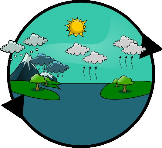 Free Water Cycle Clip Art-Free Water Cycle Clip Art-5