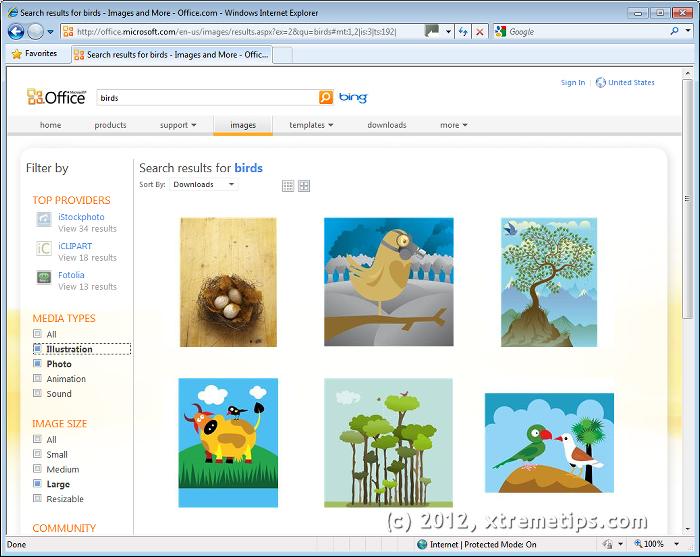 free web clip art. Microsoft .