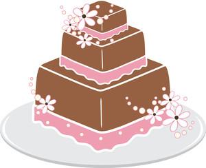 Free wedding cake clip art .