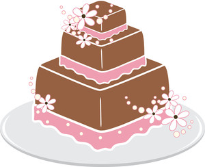 Free wedding cake clip art image clip art image of a 3 tier
