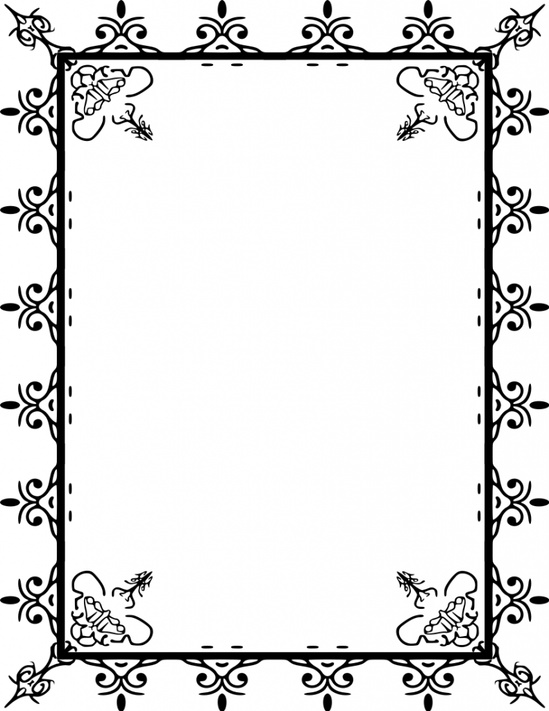 free wedding clipart borders .-free wedding clipart borders .-7