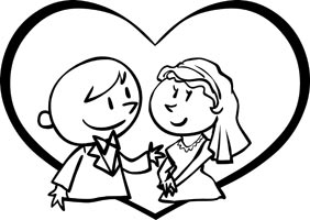 Wedding Cartoon Clipart