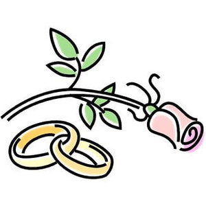 Free Wedding Clipart Microsof - Free Clipart Wedding