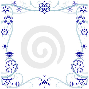 Free Winter Borders Clipart