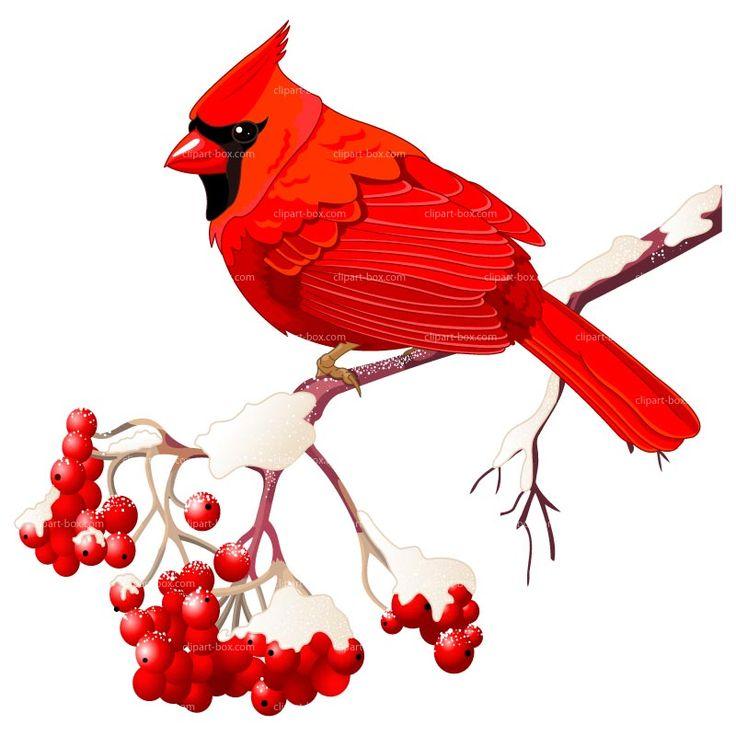 Free Winter Clip Art Clipart Winter Bird Royalty Free Vector