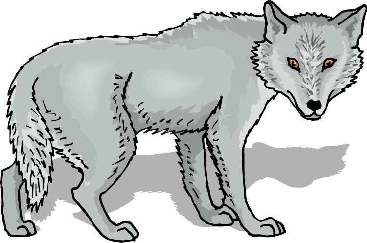 Free Wolf Clipart-Free Wolf Clipart-3