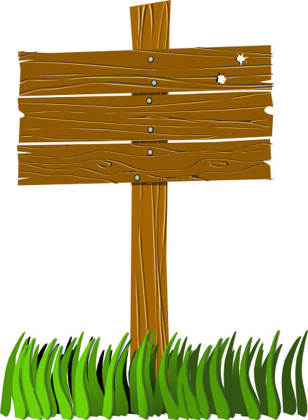 Free Wooden Sign Post Clip Art-Free Wooden Sign Post Clip Art-11