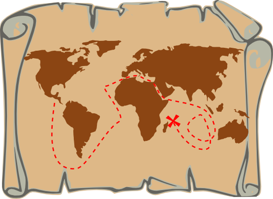 Free world map clip art clipart image