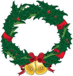 Free Wreath Clip Art Image .-Free wreath clip art image .-10