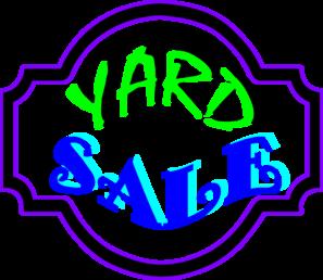 Free yard sale clip art clipart 3