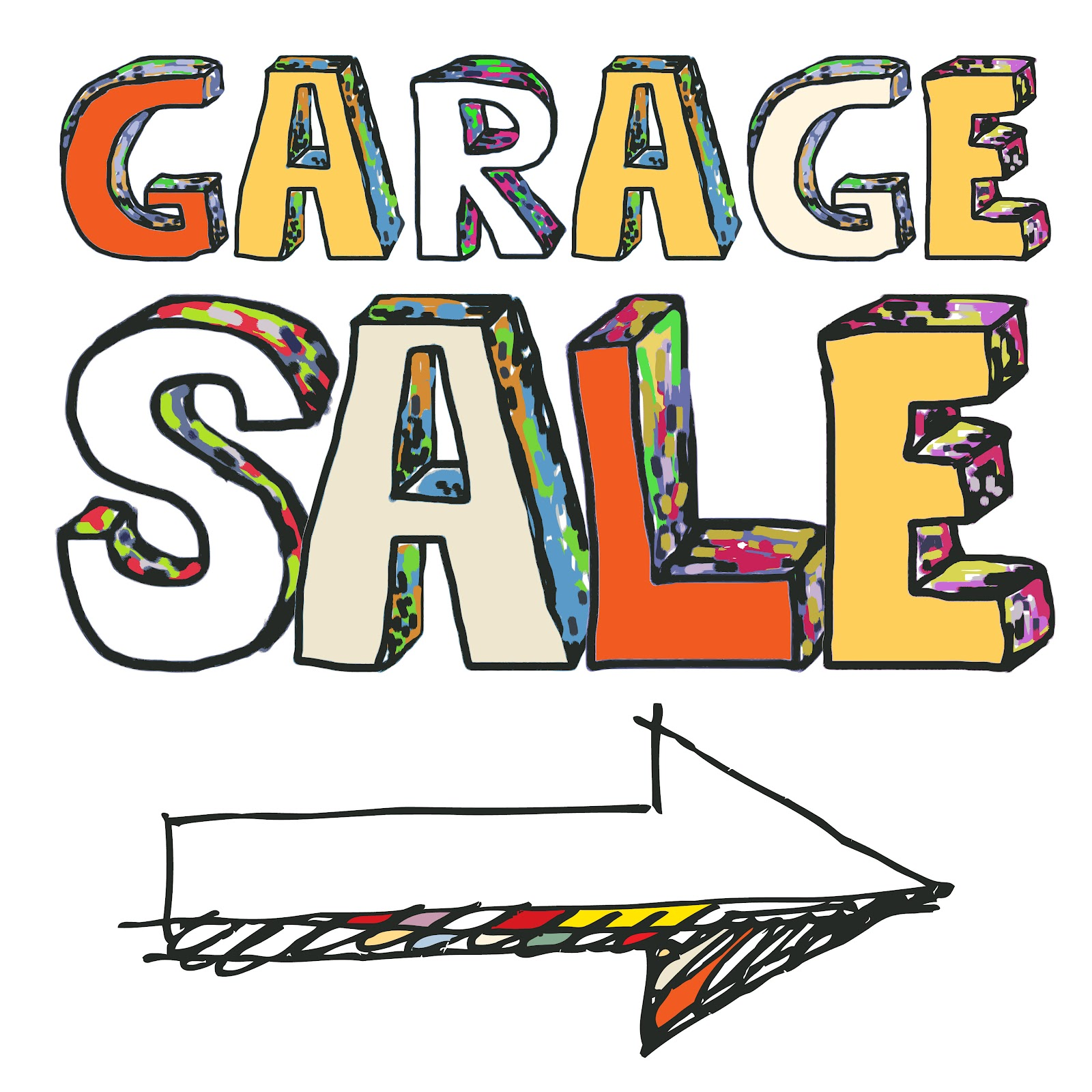 Free yard sale clip art clipart 4