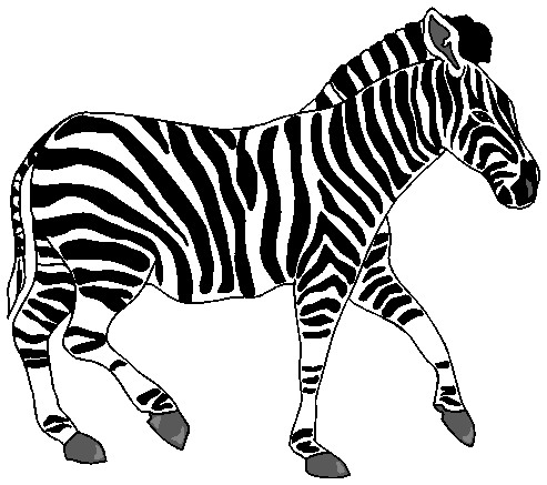 Free zebra clipart clip art pictures graphics illustrations image