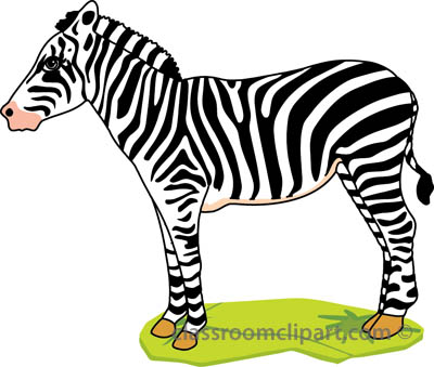 Free zebra clipart clip art