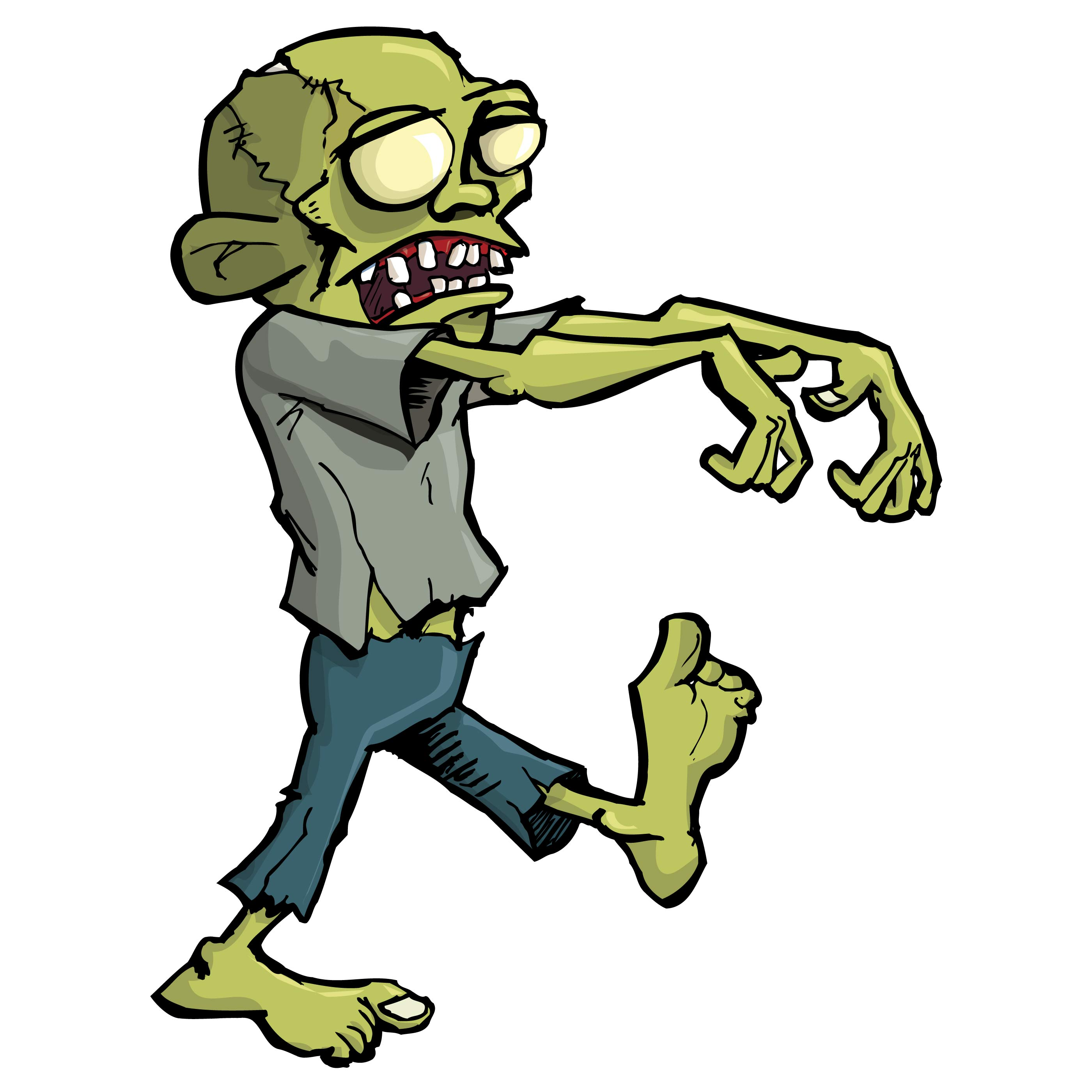 Free Zombie Clipart-Free Zombie Clipart-7