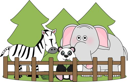 free zoo clipart | Preschool-Zoo | Pinterest | Colors, Zoos and Graphics