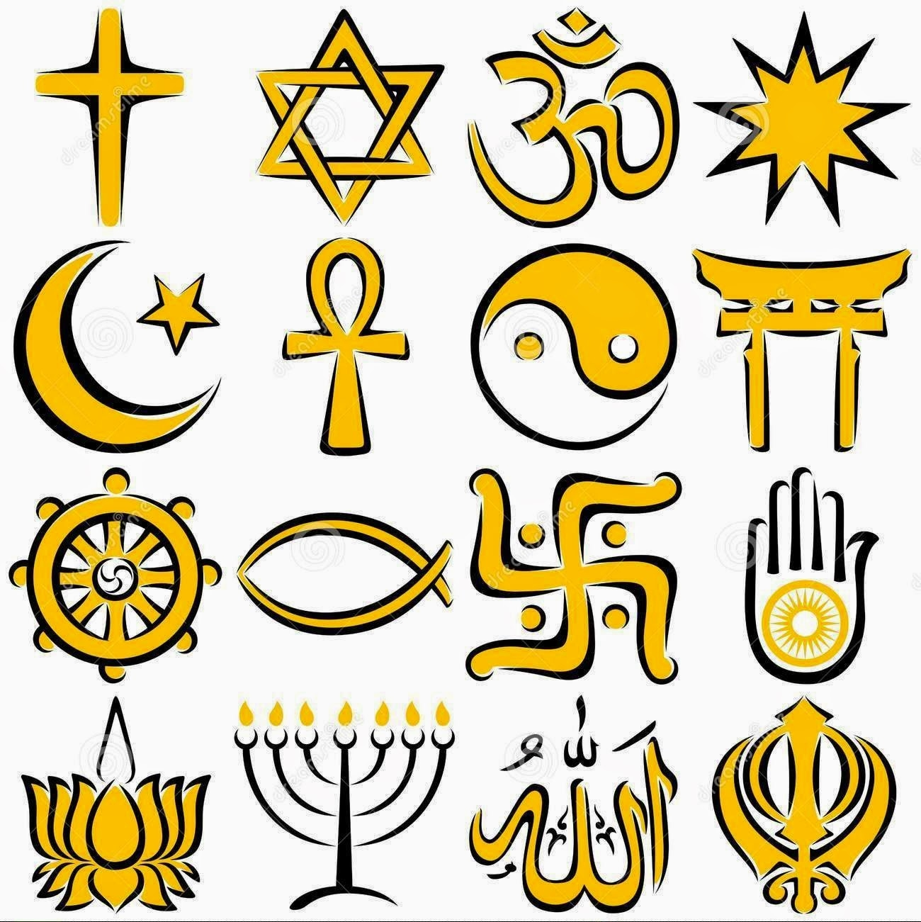 Freedom Of Religion Clipart