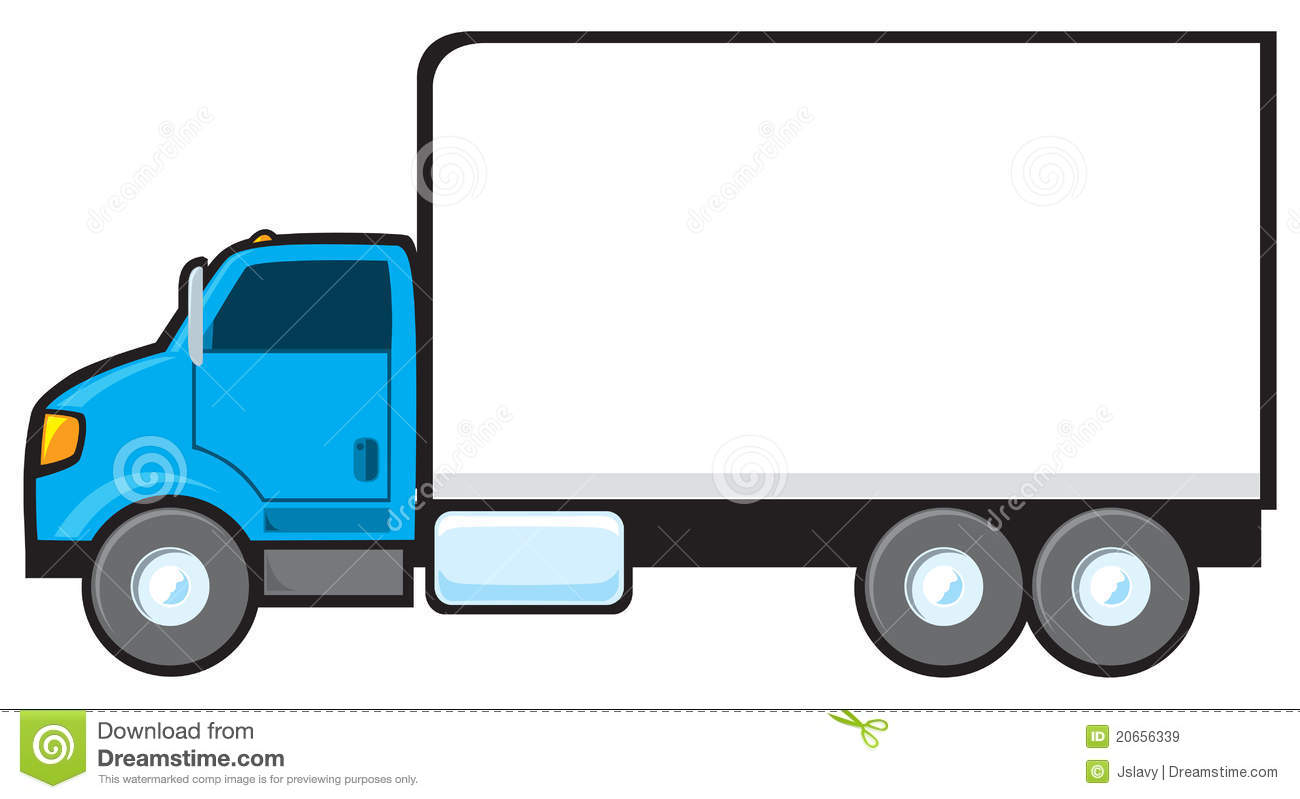 freight clipart - Delivery Truck Clipart