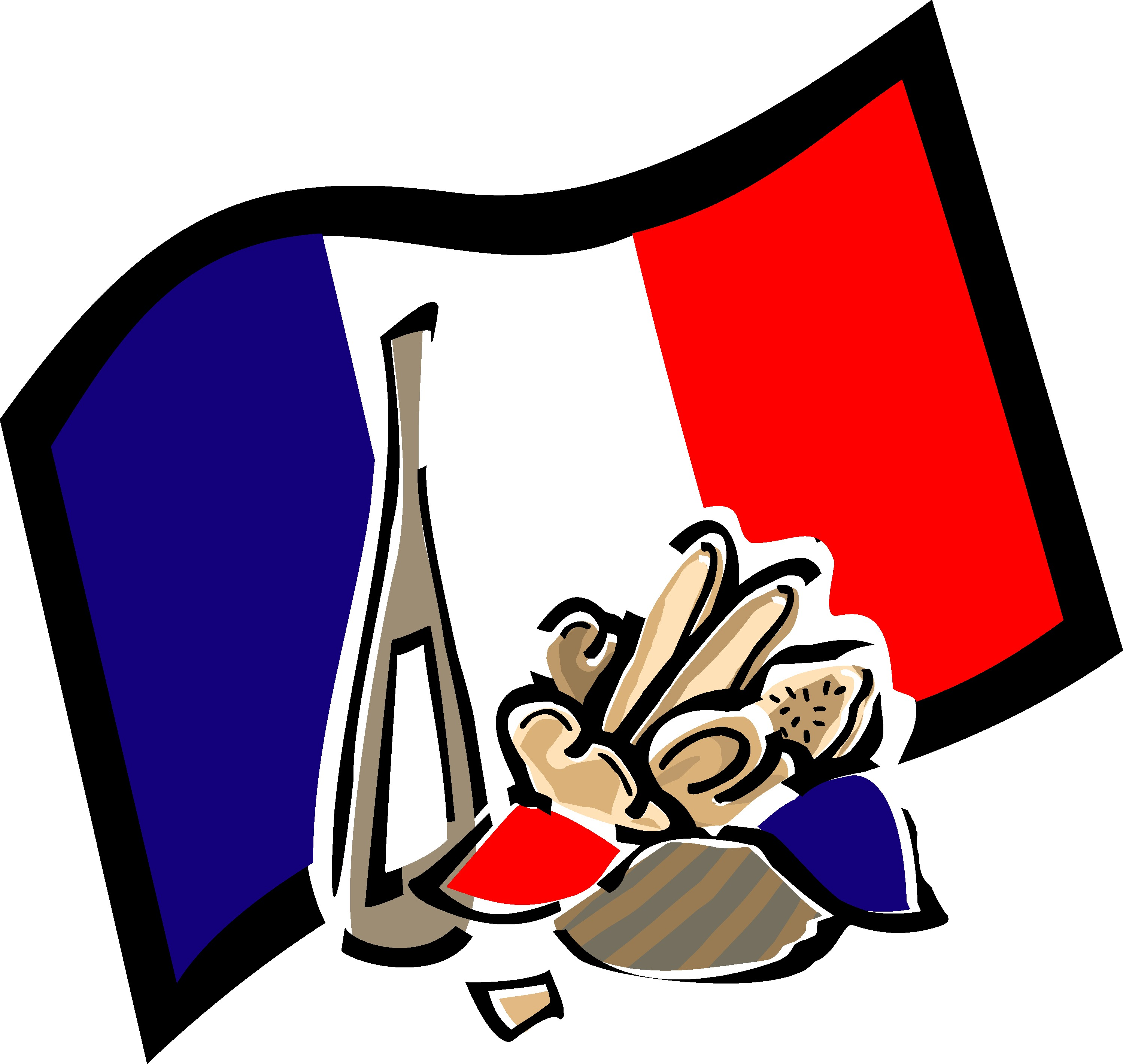 French Clip Art - clipartall  - France Clipart