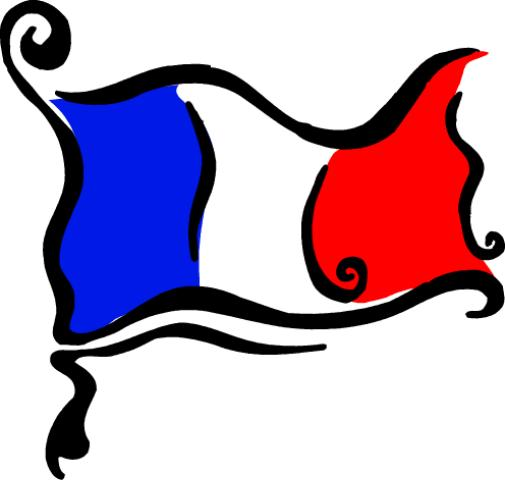 ... French Flag Clipart ...
