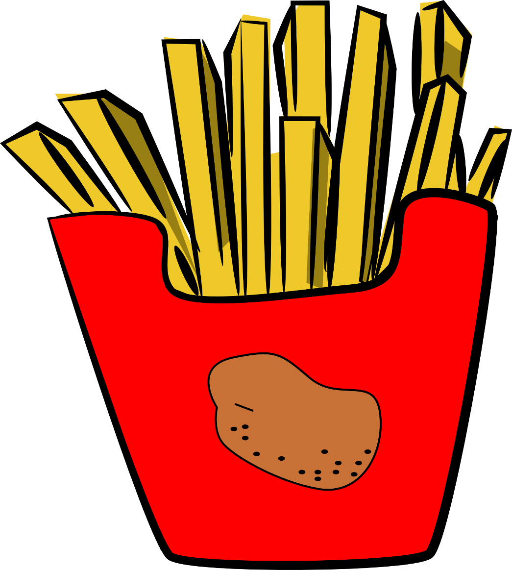 French Fries Clip Art-French Fries Clip Art-6