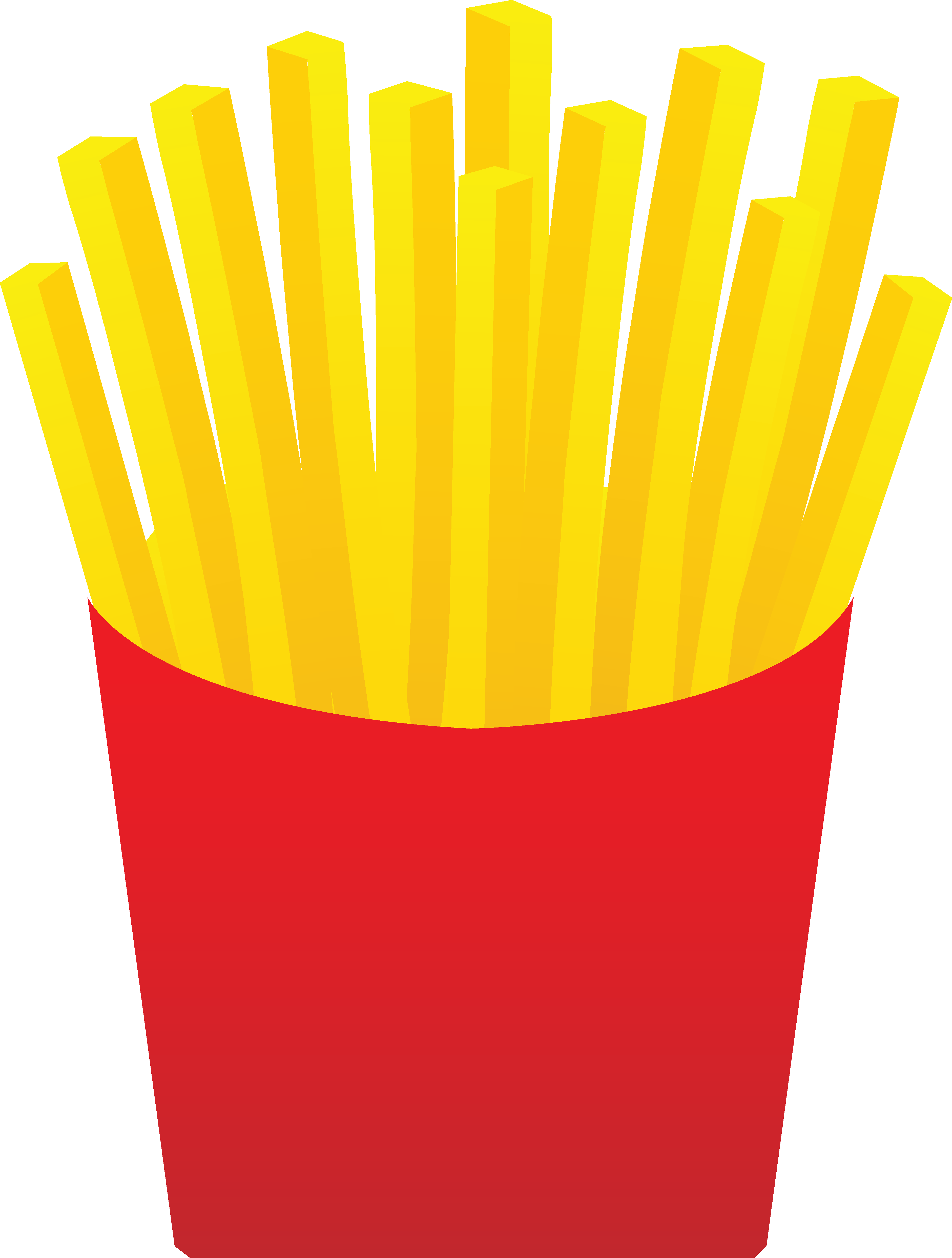 French Fries Free Clipart