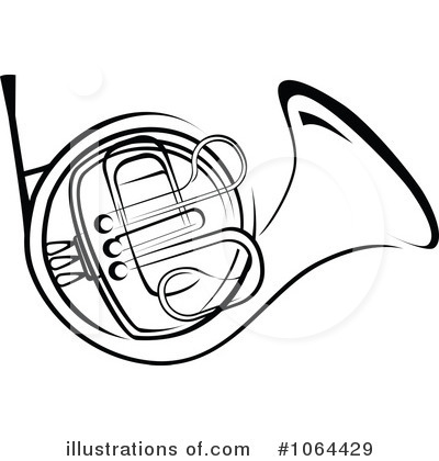 French Horn Clipart 1064429 By Seamartin-French Horn Clipart 1064429 By Seamartini Graphics Royalty Free Rf-17