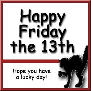 Friday The 13th Superstitions Clip Art-Friday the 13th Superstitions Clip Art-11