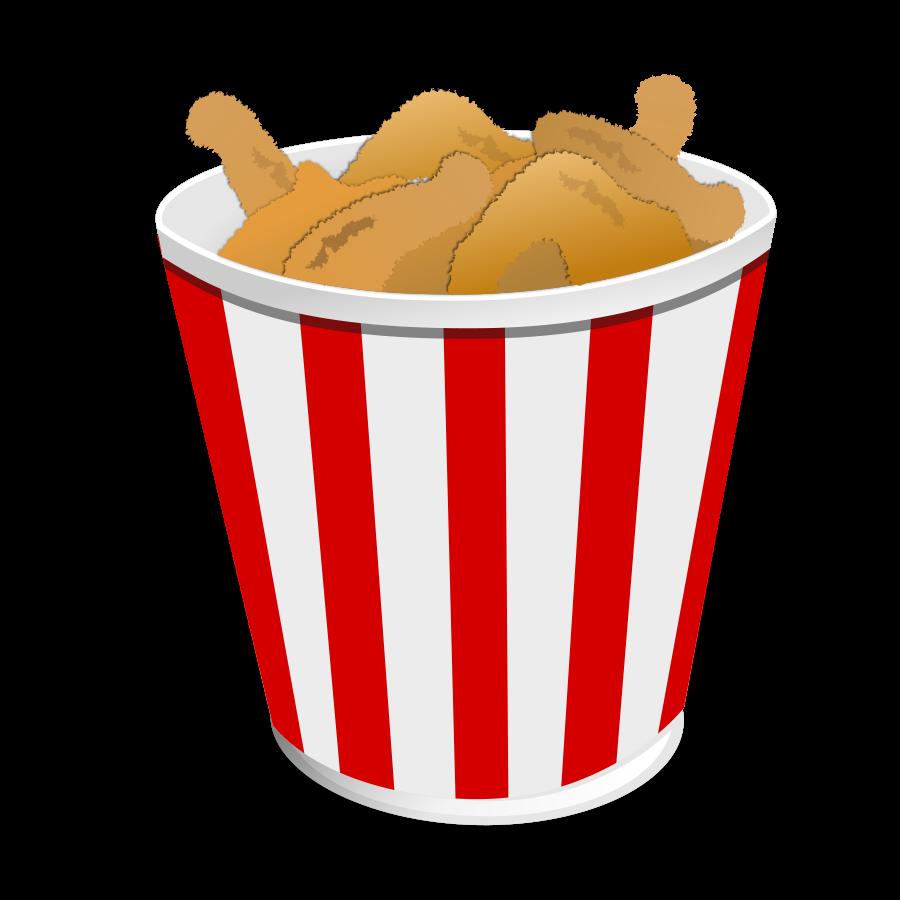 fried chicken clipart