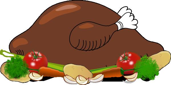 Fried Chicken Dinner Clipart