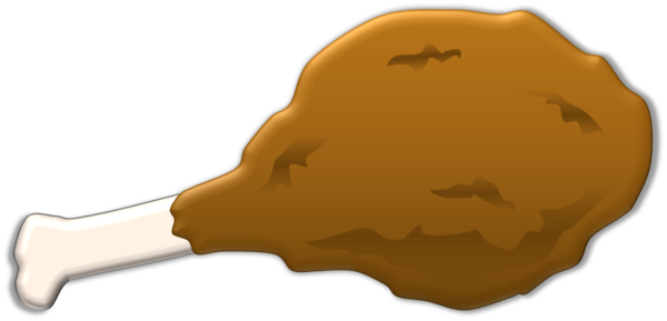 Fried Chicken Leg Free Images At Clker Com Vector Clip Art Online