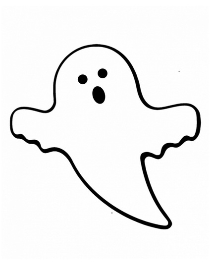 Friendly Ghost Clipart-Friendly Ghost Clipart-8