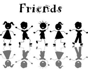 Friends clip art free clipart images 4 c-Friends clip art free clipart images 4 clipart 2-16