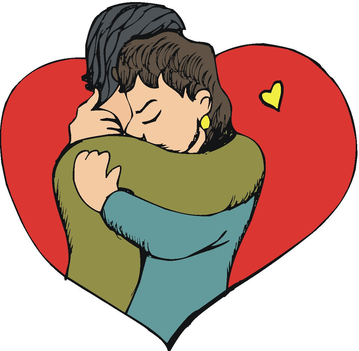 Friends Hugging Drawing Clipart Panda Fr-Friends Hugging Drawing Clipart Panda Free Clipart Images-15