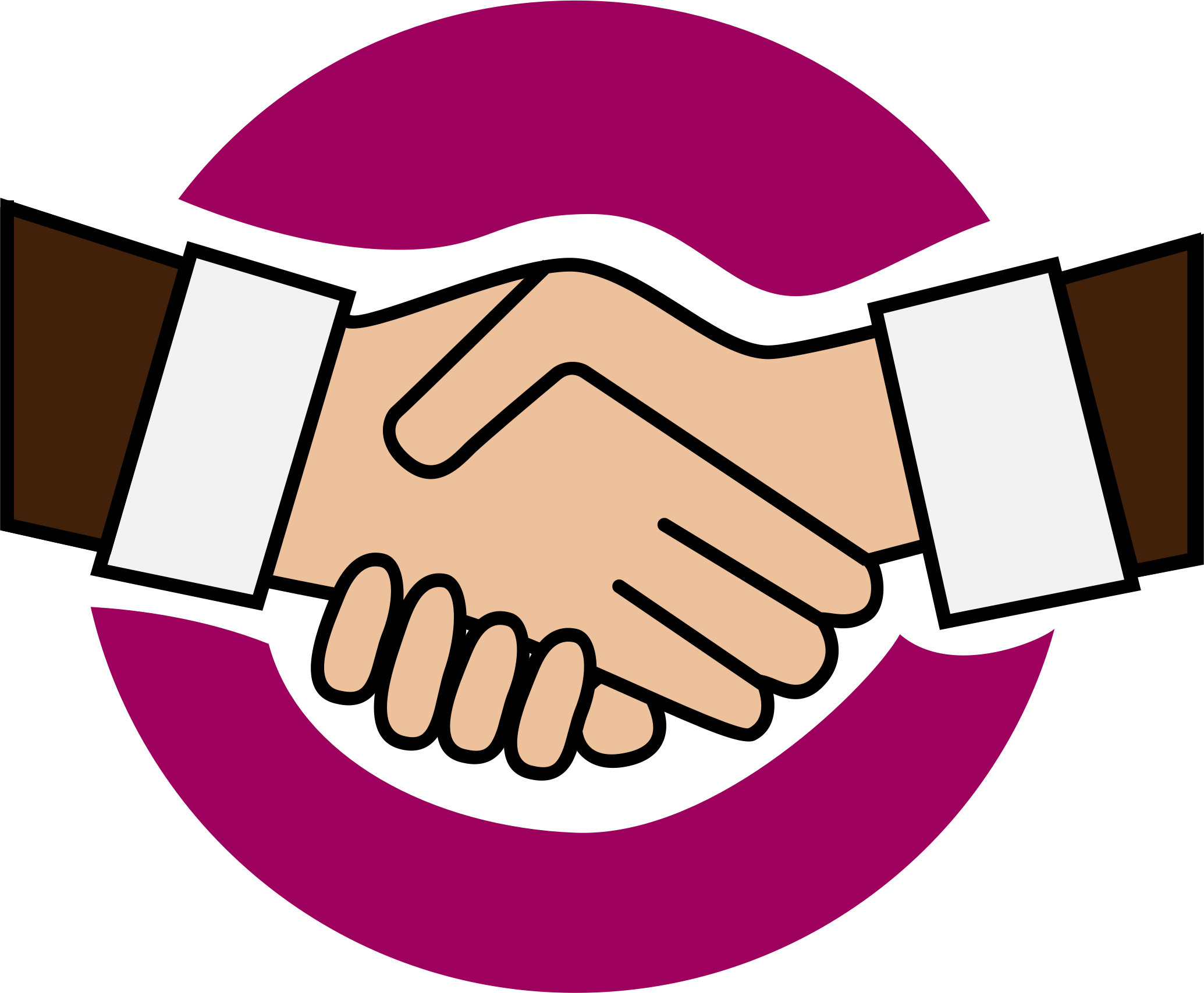 Friendship Handshake Clipart