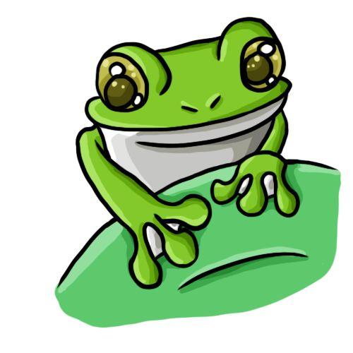 Frog Clip Art 19