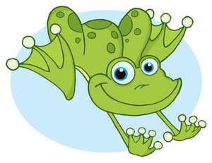 Frog Clip Art Images Jumping .